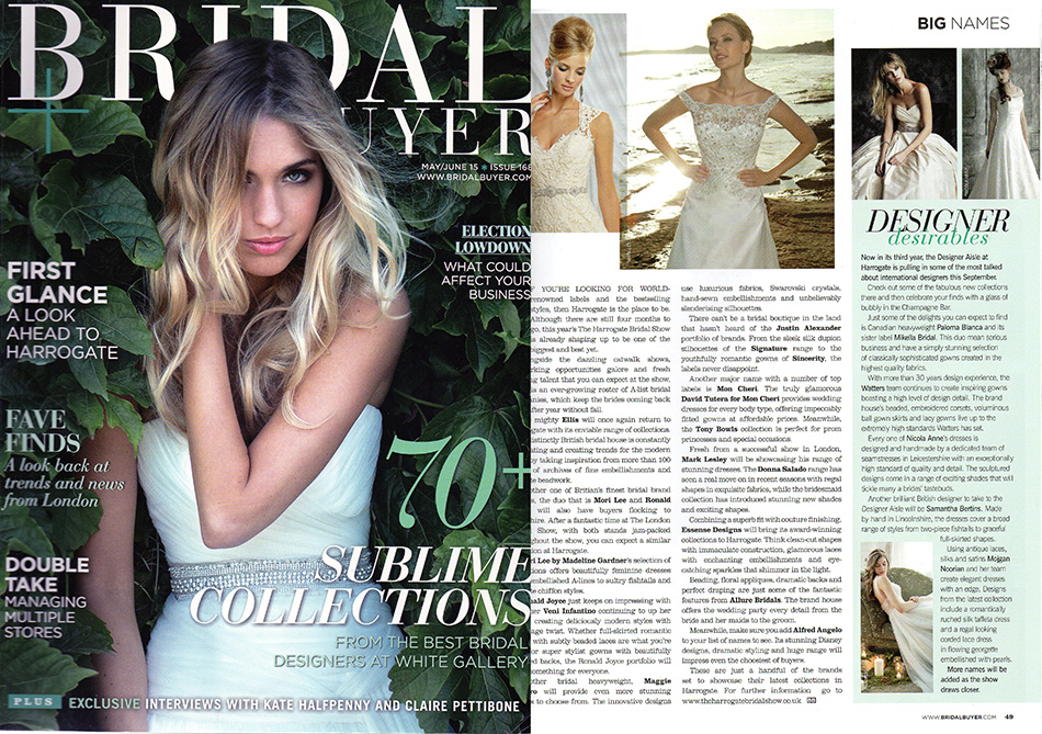 bridal buyer may june 2015