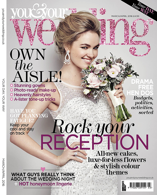 you and your wedding magazine mar apr 2016