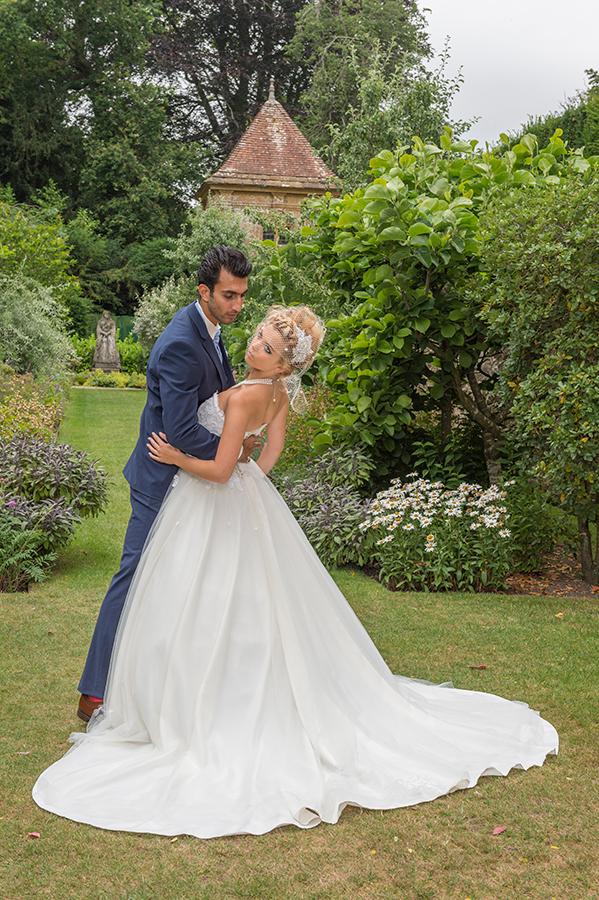 Mojgan Bridal Couture Charm Romantique wedding dress